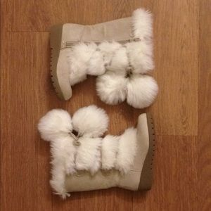 Old Navy eskimo winter boots size t